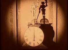 there's a skeleton on my clock