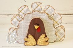 KIT Turkey Wood Craft by pebblesinmypocket on Etsy, $18.99