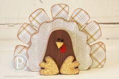 KIT Turkey Wood Craft by pebblesinmypocket on Etsy, $18.99