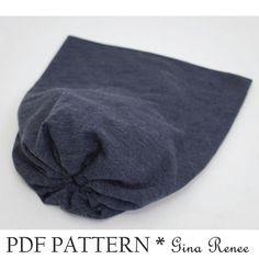Easy Slouchy Beanie - AllFreeCrochet.com - Free Crochet