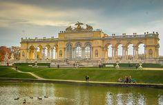 Vienna Gloriette Schönbrunn Palace