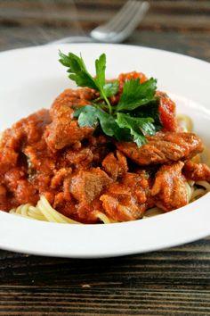 Creole Contessa: Meaty Slow Cooker Sunday Ragu with Roast