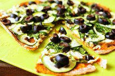 Vegan Tortilla Pizza! #recipes #shesavegan