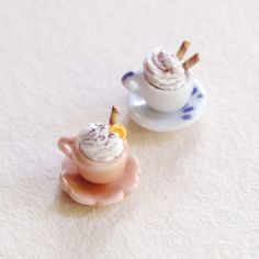 chocolate / coffee cups --- 1/6 miniature by ~Krufka on deviantART