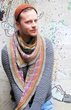 Free Stephen West Shawl! Gorgeous!