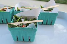 Serving Idea: 3 Individual Portioned Appetizers