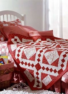 Another lovely red and white quilt