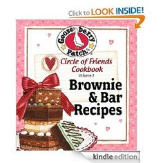 FREE Brownie and Bar Recipes Cookbook!