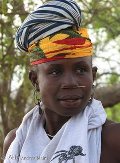 Bedik woman at Iwol, Senegal, Africa © Andrea Maini