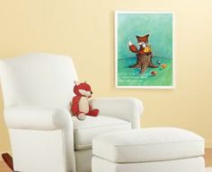 Project Nursery - JennyDaleDesigns_fox_chair