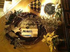 christma decor, christma tablescap, christma entri