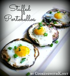 Cooking with K | Southern Kitchen Happenings: Stuffed Portobellos {Another Great Recipe for a Brunch Idea}