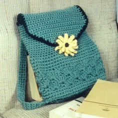 TOTE PURSE Crochet Pattern - Free Crochet Pattern Courtesy of