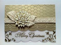 Vellum Gold Christmas