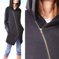 Black swan thick cotton fleece jacket Y3119 by idea2lifestyle