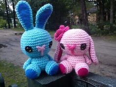 Ravelry: free Crochet Spring Bunny pattern by Stephanie Jessica Lau