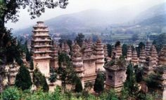 Shaolin Temple in Henan province, central China.