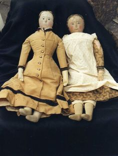 Cloth dolls nice clothes