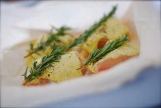 easy dinner idea ~ dijon cream chicken in parchment