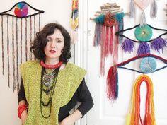 april rose, craft, rainbow roses, textil, studio visit, eye