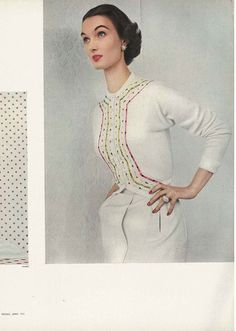 June Vogue 1953 Evelyn Tripp