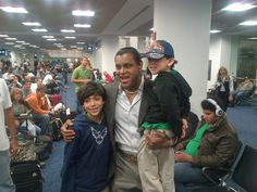 I love my fans! San Francisco, here I come! Going to see my daughters at college.