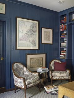 Moody Blues and Browns - 20 Living Room Color Palettes You've Never Tried  on HGTV