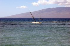 Everyone got off safely in Lahaina, Maui, Hawaii
