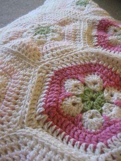 Sweet baby blanket cobija