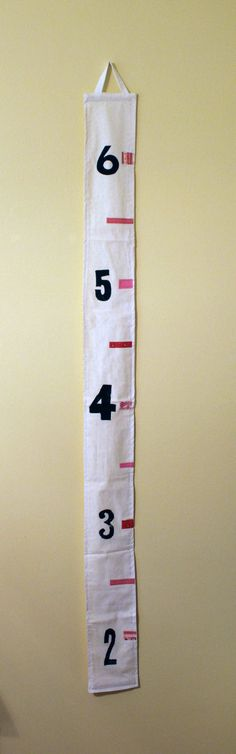 Growth chart from etsy.