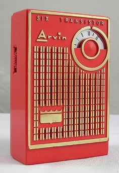 Arvin 6 Transistor Radio ~