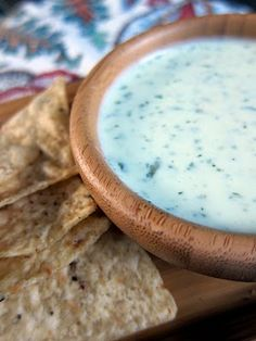 Chuy's Jalapeno Dip... great on tacos.  Maybe sub in greek yogurt for lower calorie?