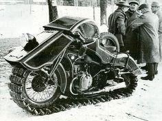'36 BMW Schneekrad track ride