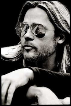 Brad Pitt by Max Vadukul