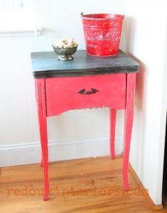 Sewing cabinet makeo