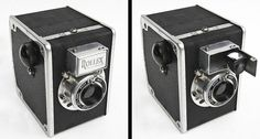 Rollex Vintage Box Camera - strange little box camera from France with a pop out viewfinder! So awesome!