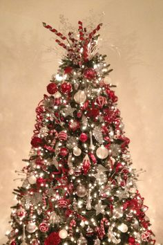 Christmas In Red White And Silver By Carlenab On