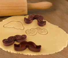 mustache cookie cutter
