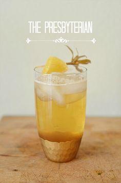 // bourbon & ginger beer //