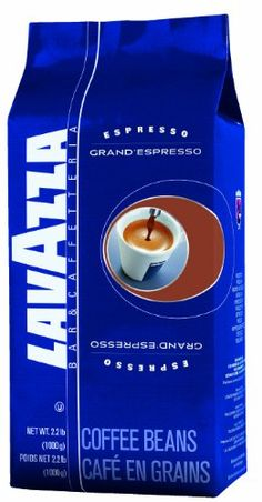 Lavazza Grand Espresso Whole Bean Coffee, 2.2-Pound Bags (Pack of 2) - Lavazza coffee has been a tradition in European homes for over 100 years. Family owned and operated Lavazza produces one product, coffee. A choice of grinds are available for either espresso drip pots or electric espresso makers. All beautifully packaged for eye appeal and vacuum packed for freshness. Experience for yourself why Lavazza coffee is one of Europes best selling co...