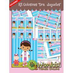 Doctora Juguetes - Kit Candy Bar (Golosinas) http://www.wonkistienda.com.ar/doctora-juguetes-kit-golosinas.html