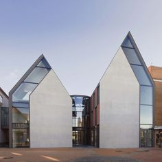 Extremely Modern Shape of Volksbank Gifhorn by Stephan Braunfels Architekten