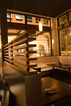 Restaurant Seating Partition