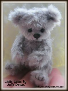 LITTLE LOUIE by Bears by Julie Dawn.