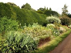 Garden at Downton Abbey in England | http://www.aladyinlondon.com