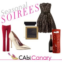 This week, the @CAbi Canary Blog shows you how to rock the night away at all of your seasonal soirees! Be a knockout in our fabulous and fetching holiday dressing!
