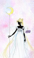 sailor moon  - the princess of moon by zelldinchit