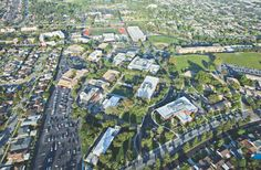 The bird's eye view of Biola University, the best private Christian college that exists today!