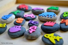 Rock Stamps - super easy and inexpensive to make.