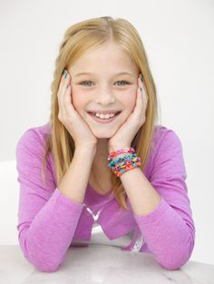 Martha Stewart Crafts™ Knit & Weave Loom Rubber Band Bracelet #kids #crafts #stretchband #loopband #loombracelet